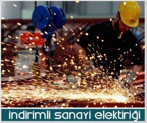 indirimli ve ucuz sanayi elektriği