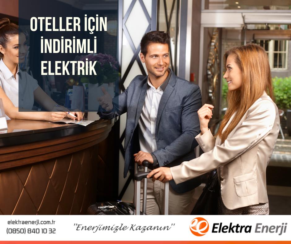 oteller için indirimli elektrik